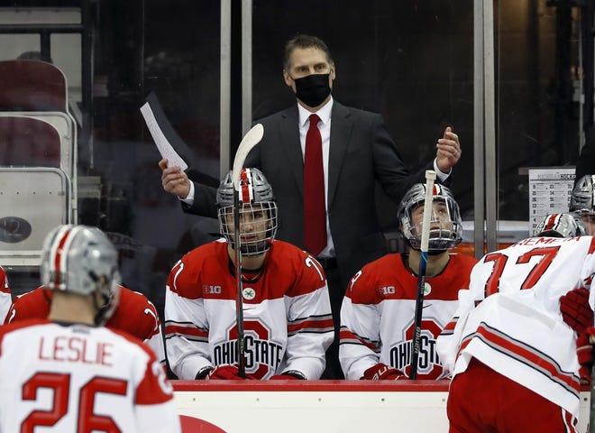 Ohio State mem's hockey, under head coach Steve Rohlik, received news of their slate of Big Ten games Monday.