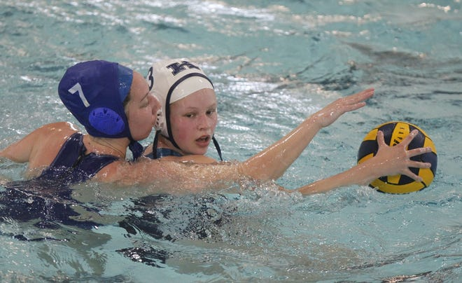 Junior Kennedy O'Brien is a key leader for the Kilbourne girls water polo team, whose roster of 11 players includes three eighth-graders.