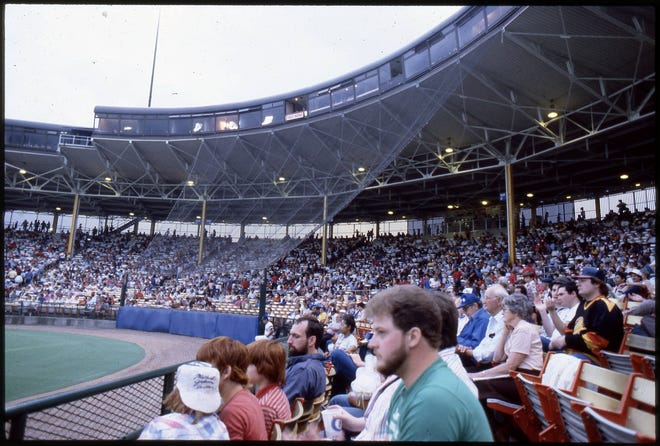 Franklin County Stadium was renamed Cooper Stadium to honor Harold M. Cooper in a ceremony before the Clippers game Aug. 19, 1984. As a county commissioner, Cooper led the effort to buy a franchise and remodel an unused stadium that had been the former home of the Jets and Red Birds. The Clippers' first home game was April 22, 1977. The Clippers moved to Huntington Park for the 2009 season.