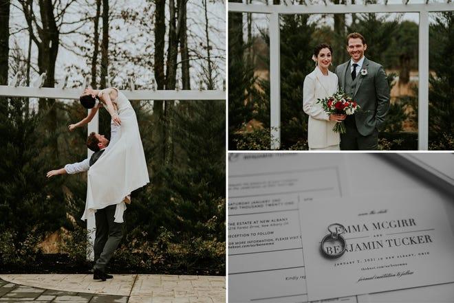 Emma McGirr and Benjamin Tucker married on Jan. 2, 2021
