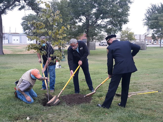 The annual 9/11 Day of Remembrance tree planting ceremony will be held on Saturday, Sept. 11 starting at 7:45 a.m. at the Dodge City Fire Department Station 1 (201 Soule St.) in Dodge City. The time marks when the first plane crashed into the World Trade Center in New York.