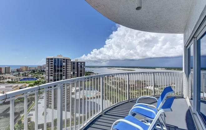 Drinking your coffee with the morning sunrises over the ocean and sipping cocktails while watching the stunning sunsets over the river will be your new normal in this luxurious Oceans Grand condominium.