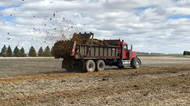 Manure spreading will soon be underway this fall.