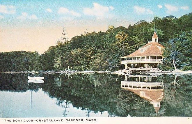The former Gardner Boat Club on the east shores of Crystal Lake.
