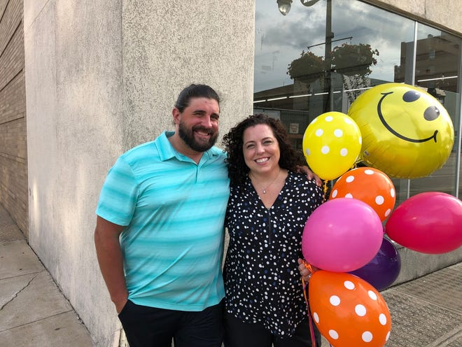 Candace D'Agnolo and her husband, Joey Palermo, purchased the property most recently occupied by Dollar General, 354 E. Main St., on Aug. 26. They plan to renovate the building and create four spaces, all with entrances on Seminary Street.