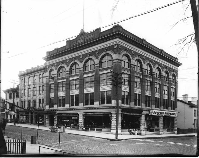 The Utica Labor Temple once stood on the southwest corner of Charlotte and Devereux streets in downtown Utica. It was dedicated on July 4, 1912, by Samuel Gompers, president of the American Federation of Labor. The building was torn down in 1966 to make room for a parking garage in the rear of the new State Office Building. The Labor Temple was the result of planning by the Utica Trades Assembly, an organization of city unionized workers who needed a home for their meetings and offices. It was built for $54,485.