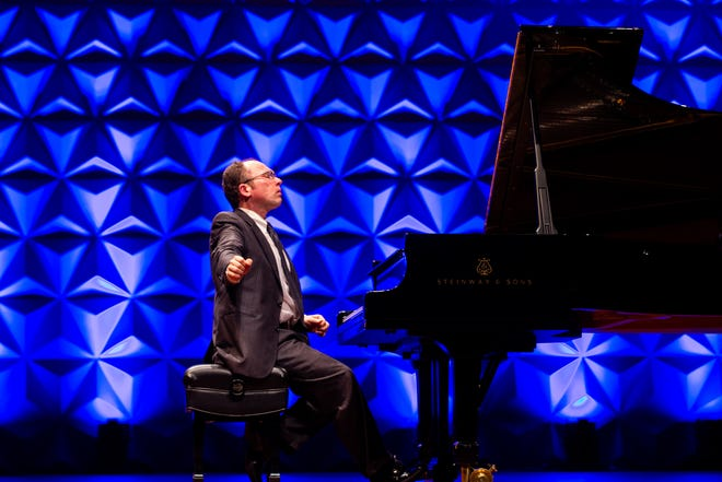 Pianist Sergio Monteiro is the director of piano at the Bass School of Music at Oklahoma City University.