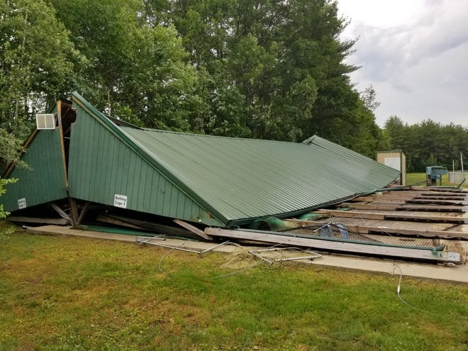 Roger Allen Baseball's Danny Bushway Memorial Batting Cage was toppled by a storm in July. The league is currently raising funds to rebuild it before winter.