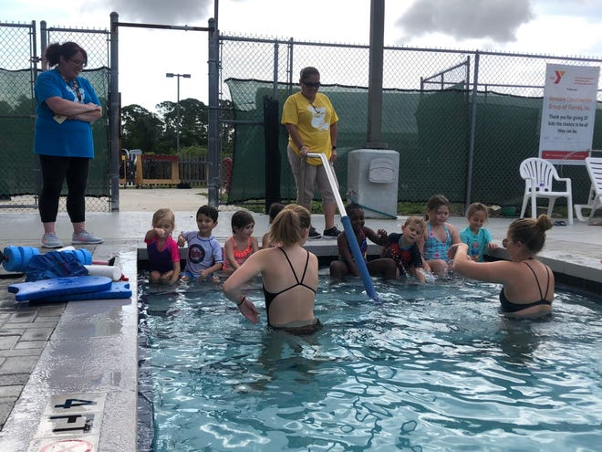 The YMCA of the Treasure Coast offers swimming lessons to children as young as 6 months old and up through adulthood. Lessons also are integrated into its year-round childcare programming. [Contributed]