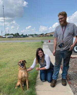 Chance, a mixed-breed dog of a variety of possibilities, was recently adopted at Pratt Area Humane Society after a long, heart-breaking stay there for almost 12 months.