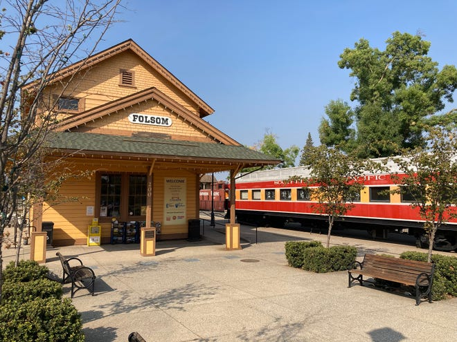 Old Folsom rail station is now home to Folsom Railroad Museum.