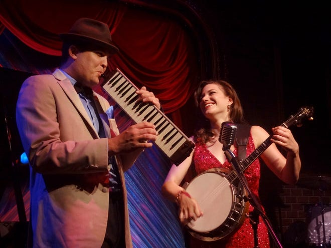 """Assaf Gleizner, left, and Kimberly Hawkey of The Swingaroos return to Florida Studio Theatre with their new show """"Jukebox Saturday Night."""""""