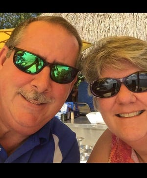 Larry and Karen Conlon, were married for 29 years before Larry died of COVID-19. Larry had been a teacher in Manatee County. [PROVIDED BY KAREN CONLON]
