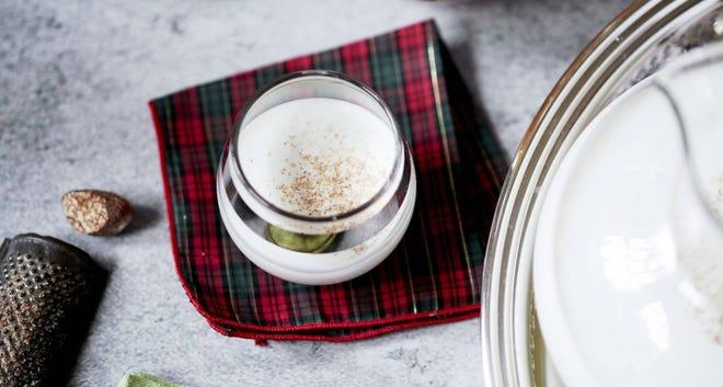 Anne Byrn's Classic Southern Eggnog