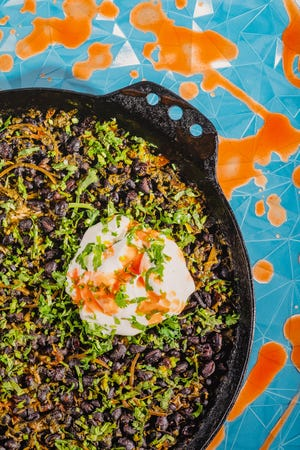 Vivian Howard's one-pot pilaf was inspired by a family meal a Dominican prep cook cooked up in a cafe where Howard once worked as a butcher.