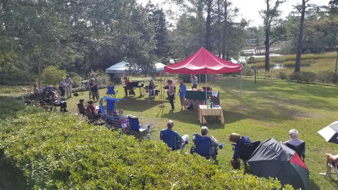 """The """"Creekside Campus"""" provided in-person worship space during the pandemic until Faith Lutheran Church moved into its new location on Judges Road."""