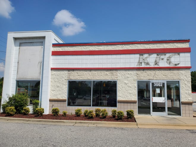 This former KFC at 3002 Raeford Road in Fayetteville was purchased by fellow fast-food company Cook Out in late July 2021.