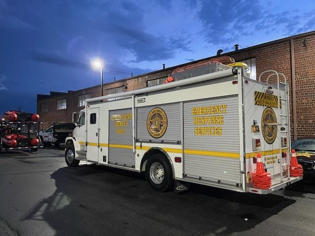 The Butler County Sheriff's Emergency Response Services Team deployed to Louisiana Monday to help with the aftermath of Hurricane Ida.