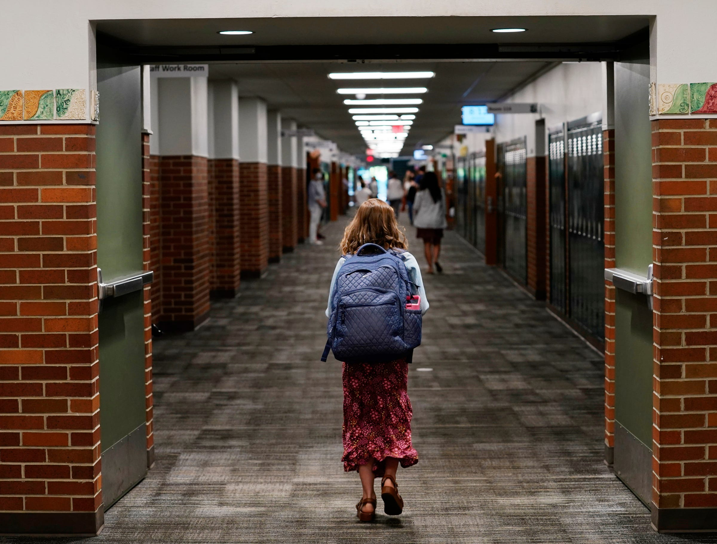 Michigan school, mental health professionals have to manage students' COVID-19 anxieties