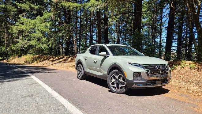 The 2022 Hyundai Santa Cruz offers pickup utility on top of a nimble SUV that can cut some rug on country roads.