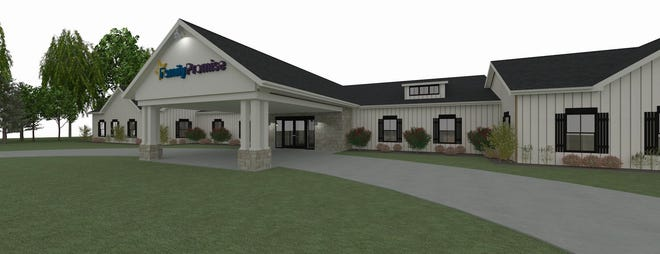 This rendering shows a Family Promise emergency shelter slated to open in Port Washington in June 2022. Family Promise of Ozaukee has sent guests to the Chalet Motel of Mequon during the coronavirus pandemic.