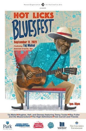 On Sept. 11, the free and annual Hot Licks Blues Festival will be offered in downtown Granville.