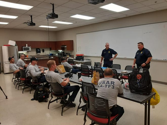 USAR Task Force #3 with Chief Scott Wolverton