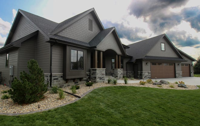 Home on East Piping Rock Lane by Rallis Construction featured on the Parade of Homes