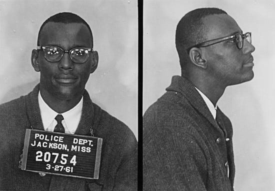 Joseph Jackson Jr. was one of nine students from Tougaloo College who conducted a sit-in at a whites-only public library in Jackson, Miss., in 1961.