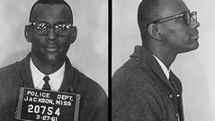 """Joseph Jackson, Jr., was one of nine students from Tougaloo College who conducted a """"sit-in"""" at a whites-only public library in Jackson, Mississippi in 1961."""