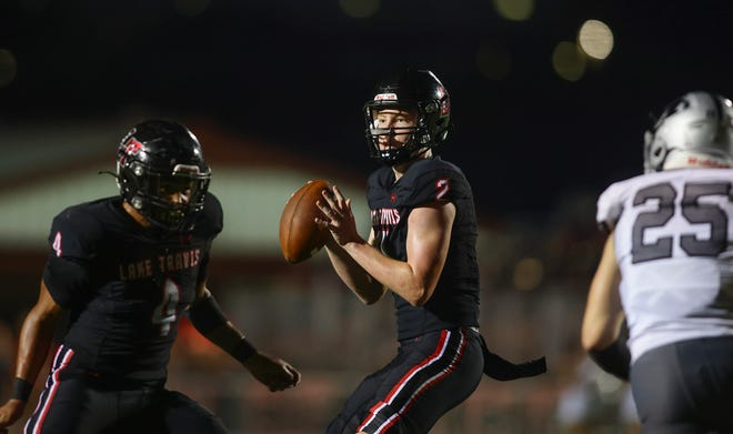 Lake Travis quarterback Bo Edmundson already has nine college football offers.