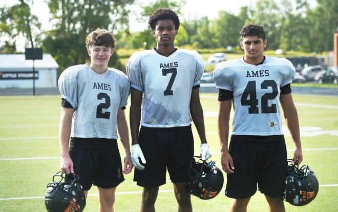 Ames' defensive backs Drew Peterson and DeAndre Isaac and linebacker Ethan Prakashan are hoping for a big measure of redemption when the Little Cyclones host Fort Dodge for their home opener Friday at the Ames High Football Field. Ames gave up 81 points to the Dodgers a year ago.