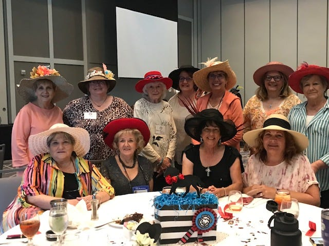 Front row, left to right: Diane Stowell, Debbie Craig, Diane ODonnell, Jacque Ediger, Beth Pompa, Michelle Moser, Paula Leatherman, Second row, left to right: Vickie Morey, Sue Friedel, Rita Baker, Sheri Meyer