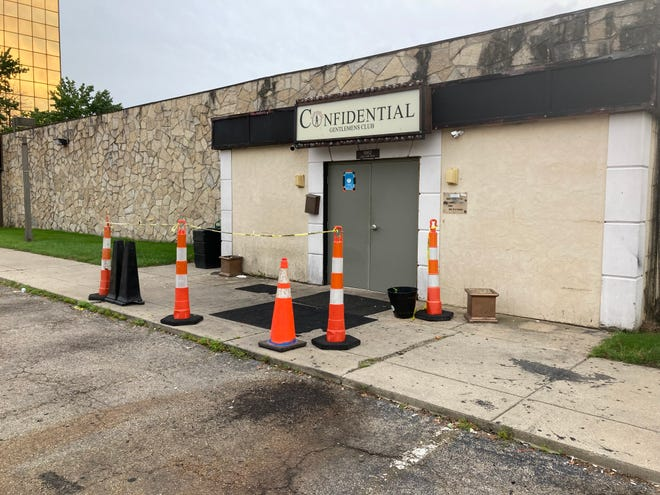 The Confidential Gentlemen's Club has been sued by a dancer who claims she never received wages and had to share tips with the club.