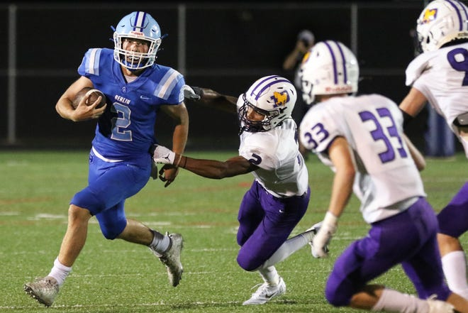 Olentangy Berlin quarterback Harrison Brewster earned our Player of the Week honor for Week 2, based on a staff vote.