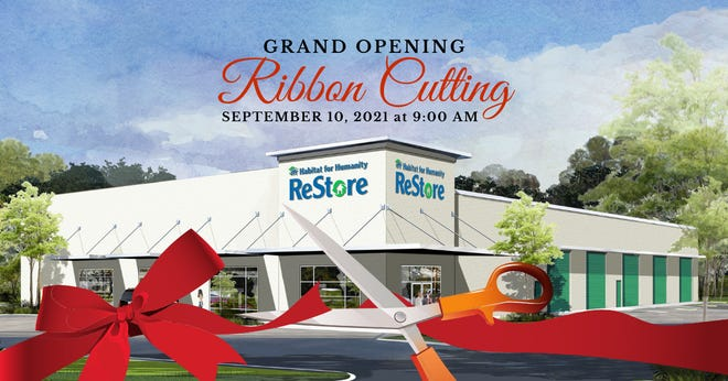 Due to Hurricane Ida, Habitat for Humanity of Walton County has decided to reschedule its official ribbon cutting to Friday, Sept. 0, 2021 at 9 a.m.