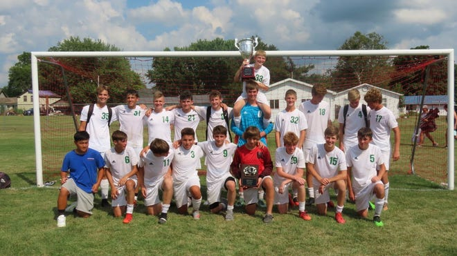 """The Leafs maintain Championship Status in the """"War on 34"""" Soccer Tournament."""