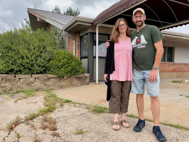Knox Pet Clinic owner Dr. BrianK. Siever and his wife Cindy have purchased the former OSF PromptCare, 1707 N. Henderson St. They will move the pet clinic there in the coming months.