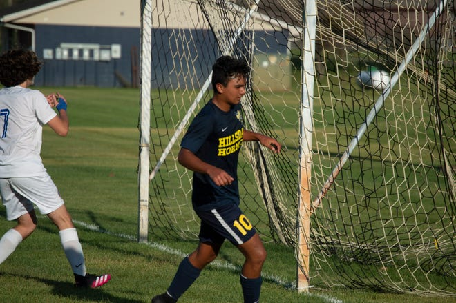Pictured: Hillsdale Hornet John  Torres, who made the week one Top Performers list.