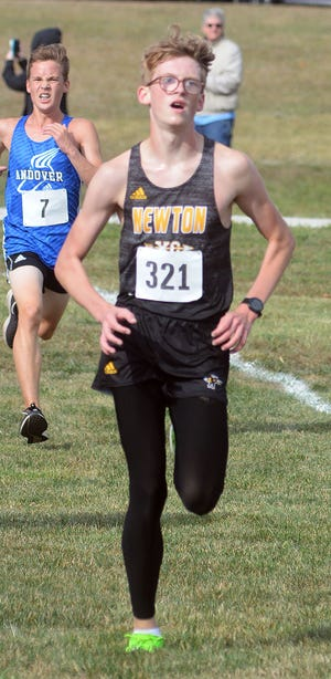 Newton senior Kaden Anderson is among the top returnees for the Railer runners this season, finishing in the top 20 at both league and regionals.