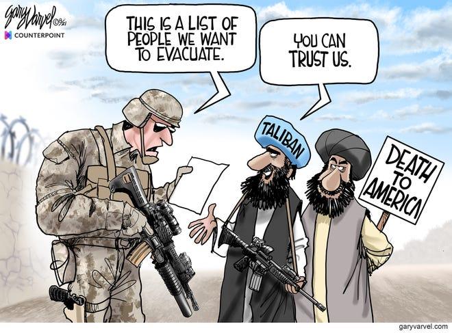 Today's editorial cartoon (Sept. 1, 2021)