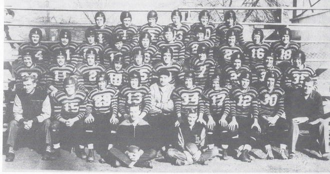 The 1948 La Junta High School football team, part of the La Junta Class of 1949, and seven other former students, will be inducted into the La Junta Hall of Fame in October.