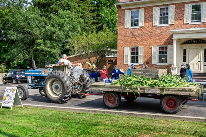 This year's corn sale, provided by Powers Farm Market and sold by members of St. Louis Church's Haiti Team, will be held after the 4:30 p.m. mass on Sept. 11, and after the masses at 8 a.m., 10:30 a.m. and 5 p.m. on Sept. 12 at 60 Main St. in Pittsford. Proceeds will go to St. Damien Pediatric Hospital in Port-au-Prince and will be matched.