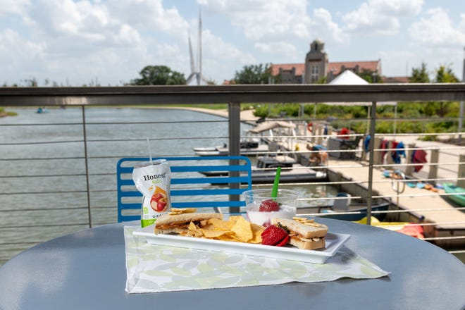 Healthy snacks will be available at The Perch when it opens at Scissortail Park on Friday.