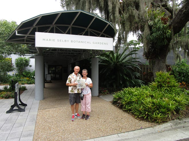 Peter and Linda Dytrych from St. Augustine Travel Club went to Sarasota and tookThe Record along. They visited the Big Cats Habitat sanctuary, the Ringling Circus Museum,and Marie Selby Botanical Gardens. All were fascinating visits.