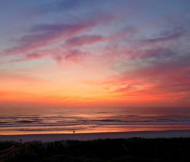 Morning on Crescent Beach.