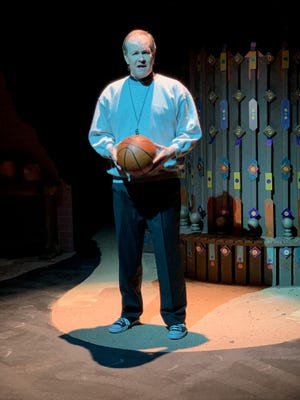 """Jim Floyd plays Father Flynn in Manatee Players's long-delayed production of """"Doubt, a Parable."""""""