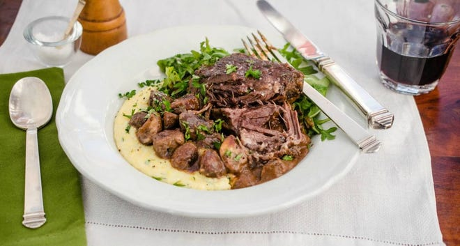 Braised short ribs are perfect for blustery days.