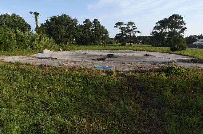 A new commercial and residential development is being proposed for the property at 1000 N. Lake Park Blvd. and 906 N. Lake Park Blvd. in Carolina Beach Tuesday, Aug. 31, 2021.