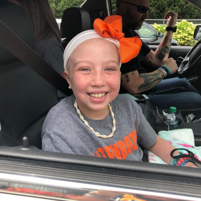 Etowah County Commissioners were joined in promoting Childhood Cancer Awareness Month by The Rozzy Foundation, a local charity founded by Ben and Lauren Greene in honor of their late daughter, Rozlyn, pictured, who passed away from acute myeloid leukemia in 2019 at age 9.